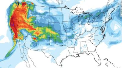"""alt=""""Smoke from California wildfires is spreading 3,000 miles to New York City"""""""