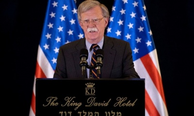 "alt=""Sanctions on Iran having effect, but regime change is not U.S. policy: Bolton"""