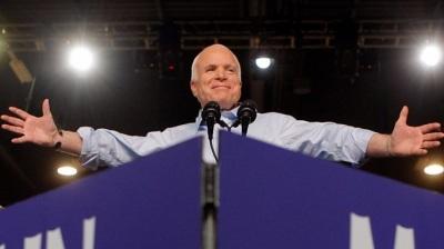 """alt=""""John McCain: Vietnam veteran and six-term senator dies at 81"""""""