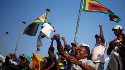"alt=""Zimbabwe court confirms Mnangagwa's disputed presidential election win"""