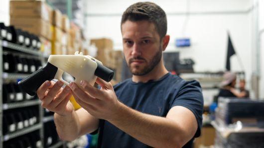 """alt=""""3-D printed gun blueprints for sale after US court order, group says"""""""