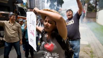 "alt=""Guatemala president won't renew UN anti-corruption commission investigating him"""