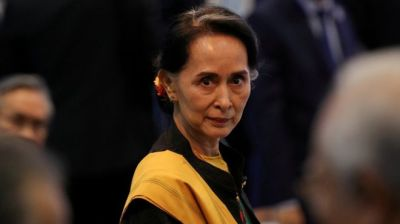 "alt=""Aung San Suu Kyi: The democracy icon who fell from grace"""