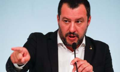 "alt=""Italian government approves Salvini bill targeting migrants"""