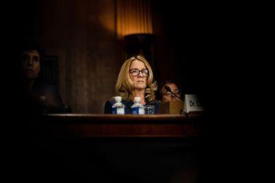 "alt=""Supreme Court Nominee Kavanaugh, Accuser Testify in Senate Hearing"""