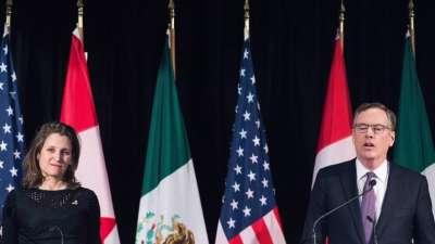 "alt=""Canada, U.S. have reached a NAFTA deal - now called the USMCA"""