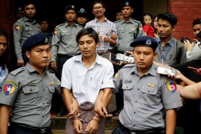 "alt=""Myanmar court rejects appeal by jailed Reuters reporters"""