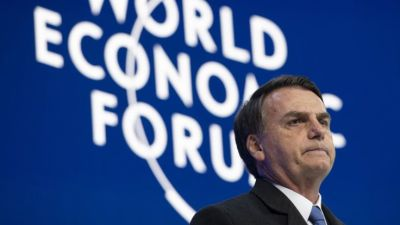 "alt=""Jair Bolsonaro: Brazil's leader vows growth with environmental protection"""