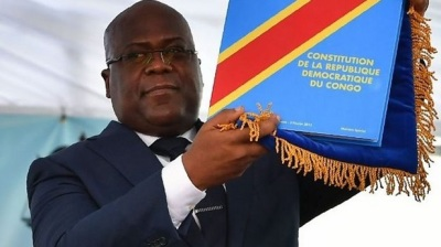 "alt=""Historic day as Tshisekedi is sworn in as DR Congo president"""