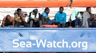"alt=""Migrant crisis: UN says six die every day in Mediterranean crossings"""