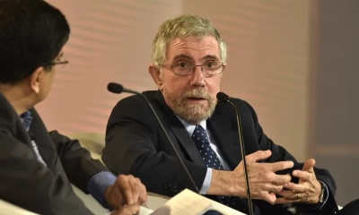 """alt=""""Paul Krugman Believes a Recession Is Coming This Year or Next"""""""