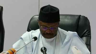 "alt=""Nigeria election 2019: Poll halted in last-minute drama"""