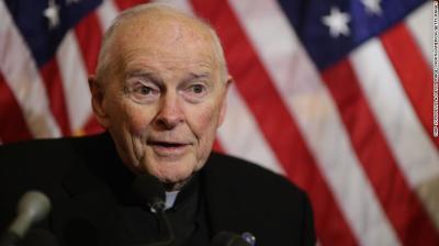 "alt=""Vatican defrocks ex-US cardinal McCarrick over sexual abuse allegations"""