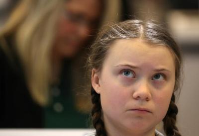 "alt=""Swedish student leader wins EU pledge to spend billions on climate"""