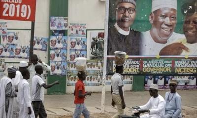 "alt=""Muhammadu Buhari wins Nigerian election with 56% of the vote"""