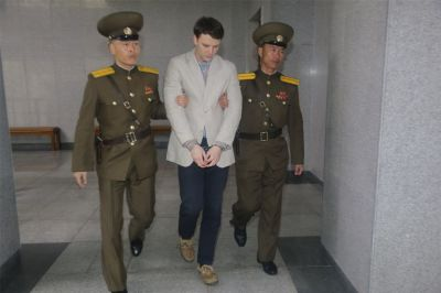 """alt=""""Trump Says Comments Misinterpreted After Warmbier Family Rebuke"""""""