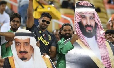 "alt=""Rumours grow of rift between Saudi king and crown prince"""