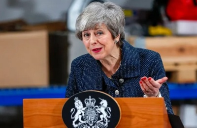 """alt=""""'A slap in the face': Barnier sets May on course for Brexit defeat"""""""