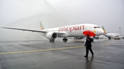 """alt=""""'No survivors' from crashed Ethiopian Airlines flight with 149 passengers & 8 crew"""""""