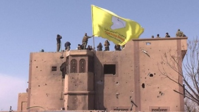 """alt=""""Islamic State group defeated as final territory lost, US-backed forces say"""""""