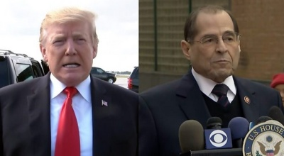 """alt=""""Mueller report: Trump cleared of conspiring with Russia"""""""