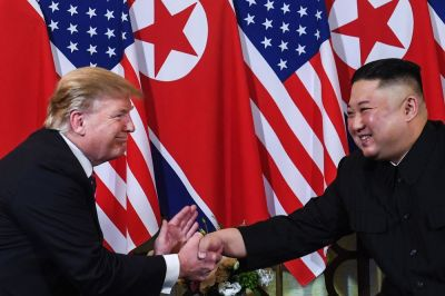 """alt=""""Kim Open to Another Summit With Trump, With Conditions"""""""