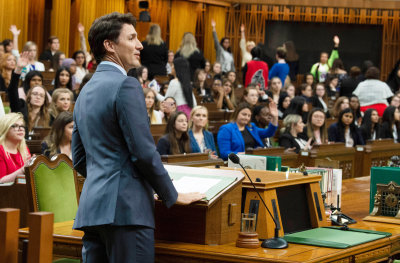 """alt=""""What's a Feminist Government? Canada, & Trudeau, Grapple With the Question"""""""