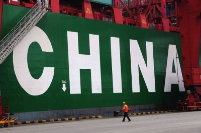 """alt=""""China says its first-quarter GDP grew by 6.4 percent, topping expectations"""""""