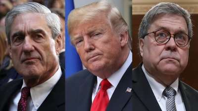 """alt=""""Obstruction or not, Mueller report shows Trump's panic during Russia investigation"""""""