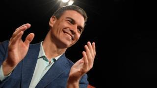 "alt=""Pedro Sánchez: Spain's accidental PM on a roll"""