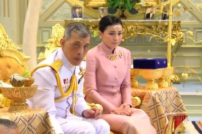 """alt=""""Thailand's King Marries Palace Security Chief, Appoints Her Queen"""""""