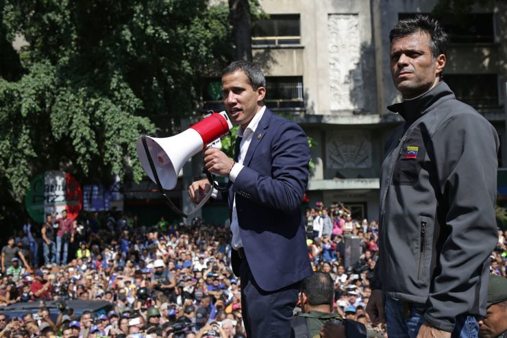 """alt=""""Venezuela's Guaido calls for 'largest march in history' in uprising effort"""""""