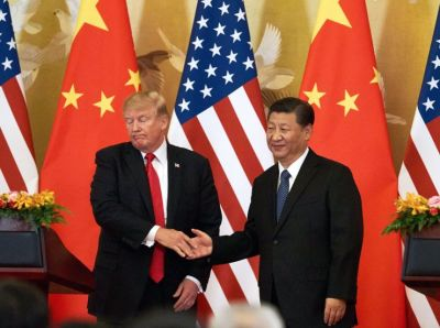 """alt=""""Trump tells China to 'act now' on trade or face a 'far worse' deal in his 2nd term"""""""