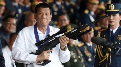 "alt=""Philippines elections: Duterte faces key poll test"""