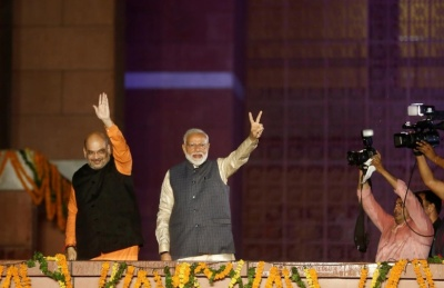 """alt=""""Foreign investors hope India dials back policy shocks after Modi win"""""""