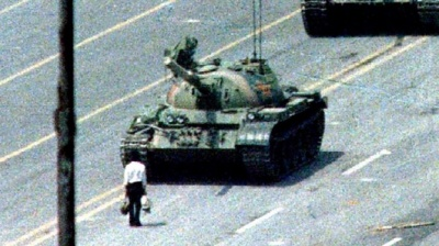 """alt=""""Tiananmen Square: China minister defends 1989 crackdown"""""""