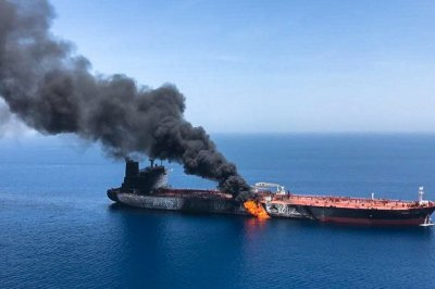 """alt=""""Gulf of Oman tanker attacks: Iran calls US accusation 'unfounded'"""""""