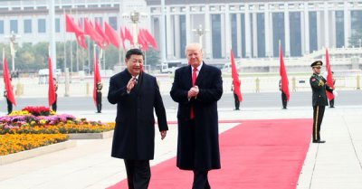 """alt=""""Trump says he & China's Xi spoke, will have 'extended meeting next week' at G-20"""""""