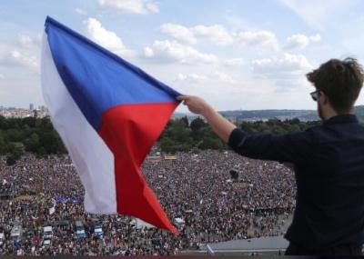 "alt=""Czechs demand PM Babis quit in biggest protest since communist era"""
