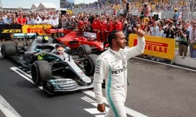 "alt=""Lewis Hamilton wins French Grand Prix: F1 – as it happened"""