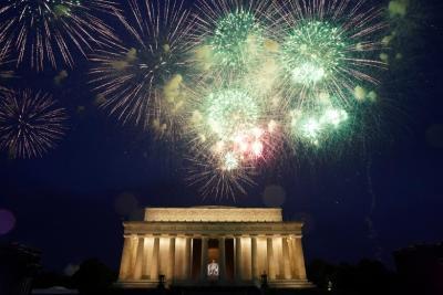 "alt=""America celebrates the Fourth of July"""