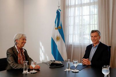 """alt=""""Lagarde's IMF Exit Costs Indebted Argentina Top Ally"""""""
