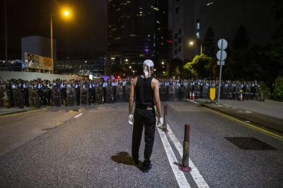 """alt=""""How Hong Kong Protesters Switched Tactics to Keep Pressure on China"""""""