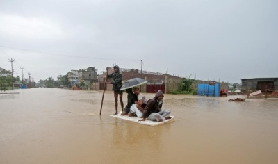 """alt=""""Over 100 killed, millions displaced from floods in India, Nepal & Bangladesh"""""""