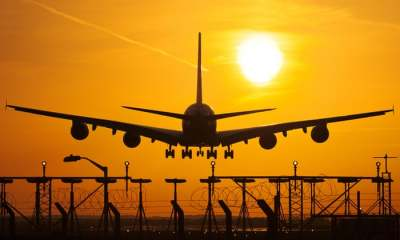 """alt=""""Air travellers may have to pay carbon charge to offset emissions"""""""