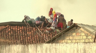 """alt=""""Brazil jail riot in Para state leaves 57 dead as gangs fight"""""""