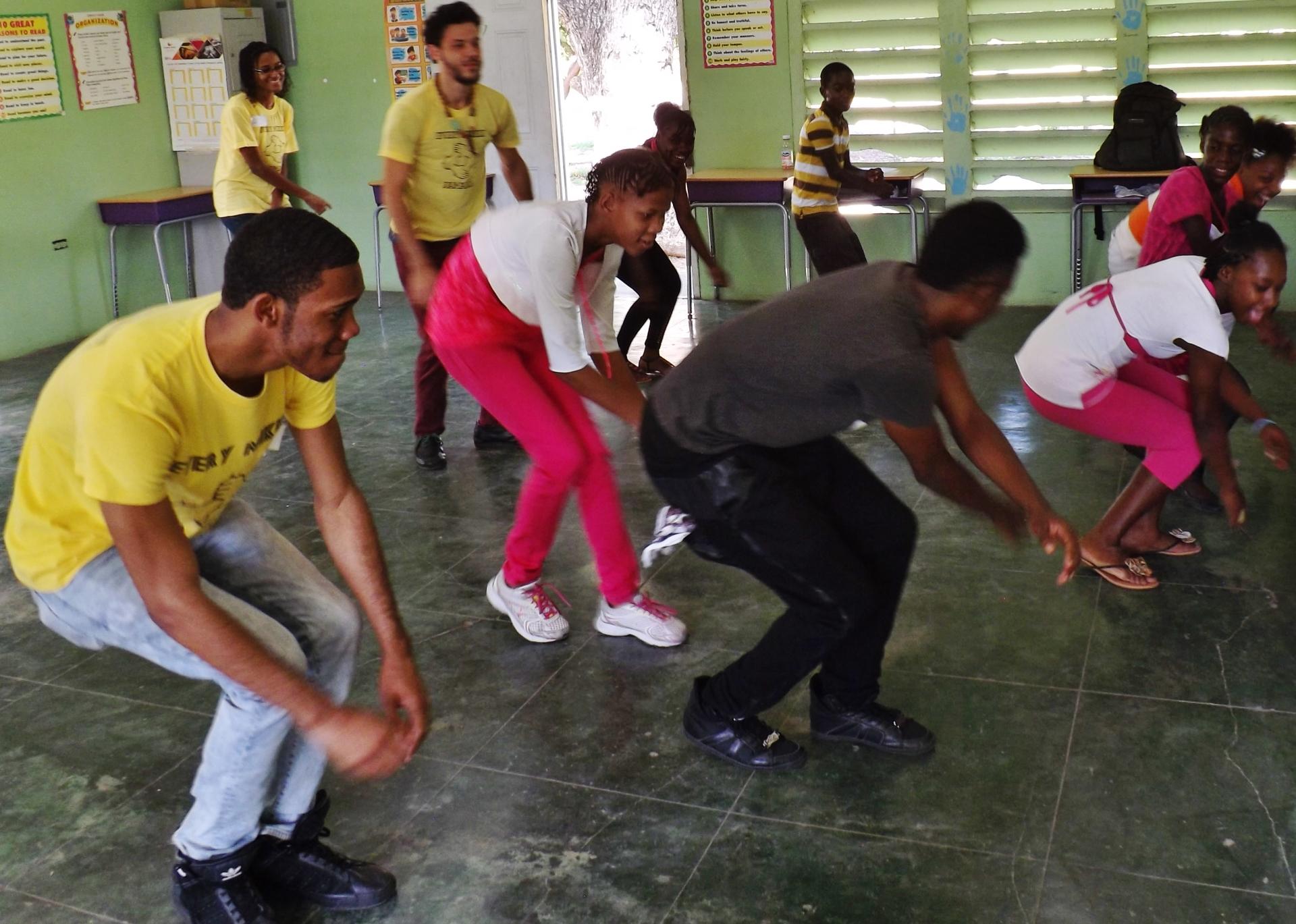 Dance Class with Schoy Stewart