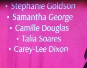 The Honourees