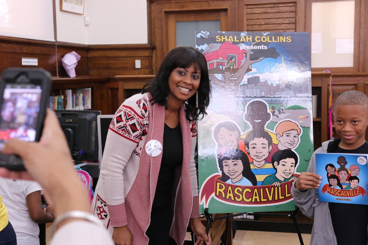 Shalah Collins, independent authors, bklyn library, rascalville, macon library