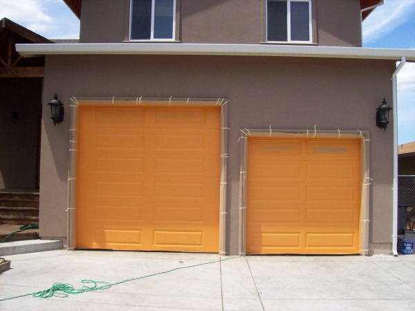 Garage Door Faux